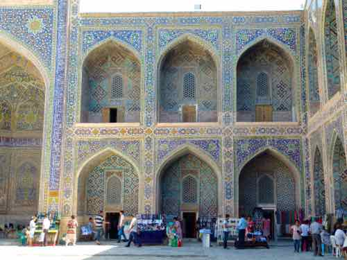 Inside Sher Dor Madrasa