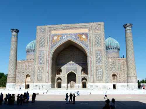 Sher Dor Madrasa, Samarkand