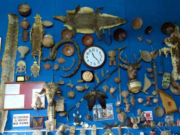 Shaman's display wall