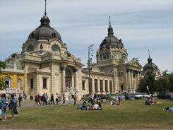 Budapest Szechenyi Baths - A Grand Old Building