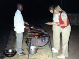 Tarangire tented camp dining options