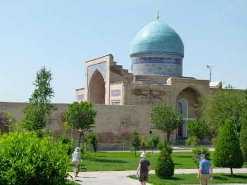 Tillya Sheikh Mosque, Tashkent