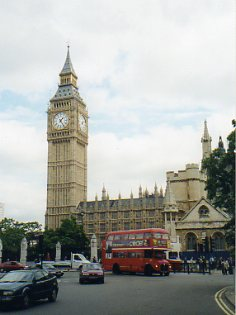 Big Ben and Red Busses in London