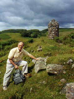Mark at McEwen Castle Loch Fyne, Scotland