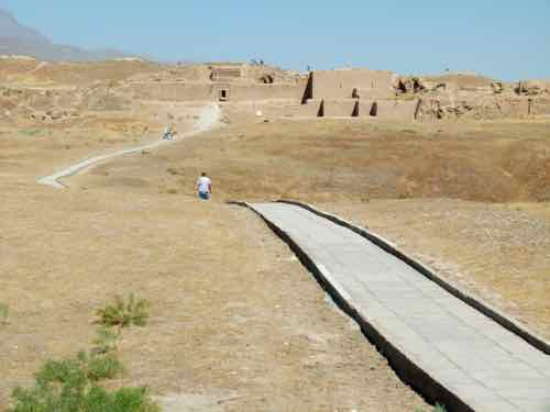 Ruins of the Parthian Kingdom of Nisa, Turkmenistan