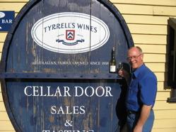 Winetasting at Tyrrell's Winery Australi