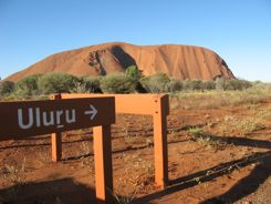 Uluru (Ayers Rock) is the heart and soul of the Australian Outback
