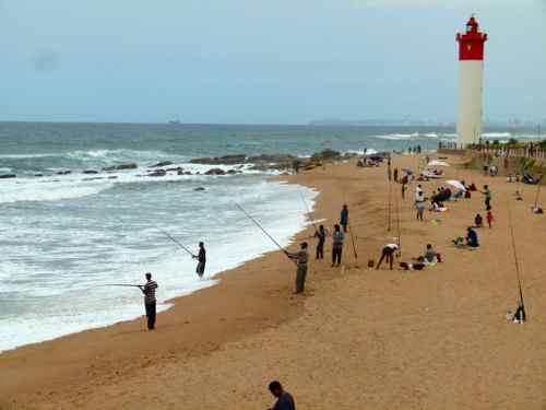 Umhlanga Beach near Durban South Africa
