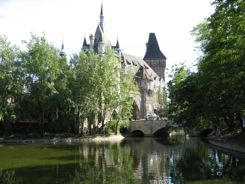 Vajdahunyad Castle in City Park
