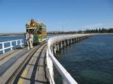 Horse drawn tram Victor Harbor Australia