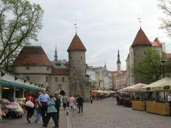 Viru Gate to Tallinn, Estonia