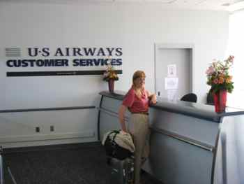 Airline Service Counters Can Help With Canceled flights