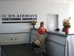 Airport Customer Services help with travel booking problems