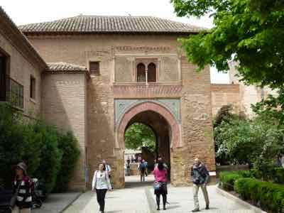 Much of The Alhambra Grounds Can Be Strolled Without Tickets