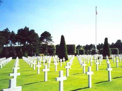 US Military Cemetery at Colleville-sur-Mer