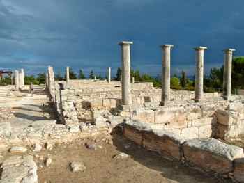 Sanctuary of Apollo Hylates (Ylatis) near the Kourion ruins