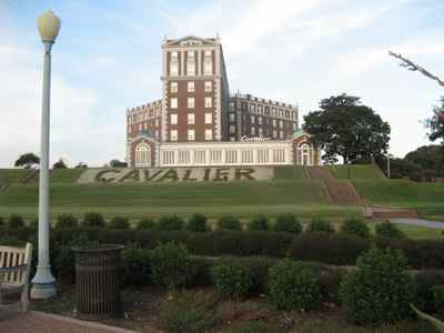 Cavalier Hotel, Virginia Beach, Virginia... another stately hotel!