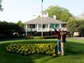 At The Masters Golf Tournament, Augusta, Gorgia