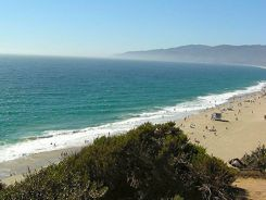 Beach in Malibu California