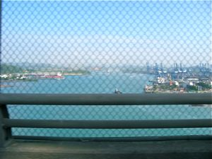 Bridge of the Americas across the Panama Canal