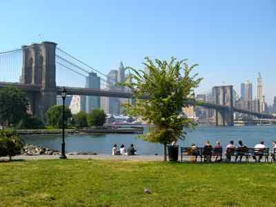 Brooklyn Bridge Park and Bridge