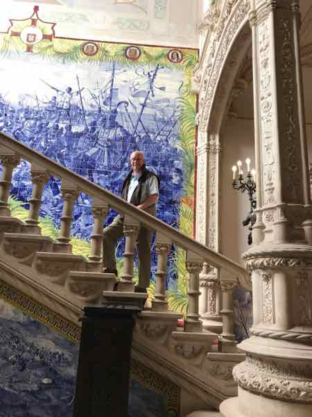Bussaco Palace - Grand Staircase
