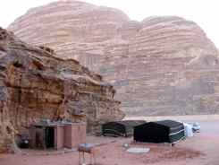 Bedouin Tented Camp Wadi Rum Jordan