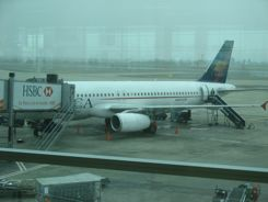 Bad weather or mechanicals can cause canceled flights.