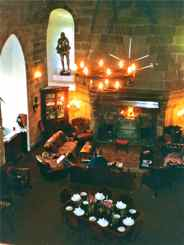 Castle Dining Room - armor, ancestors, ghosts and all
