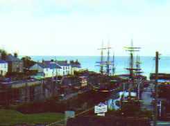Charlestown Harbor - Saililng ships - Cornwall