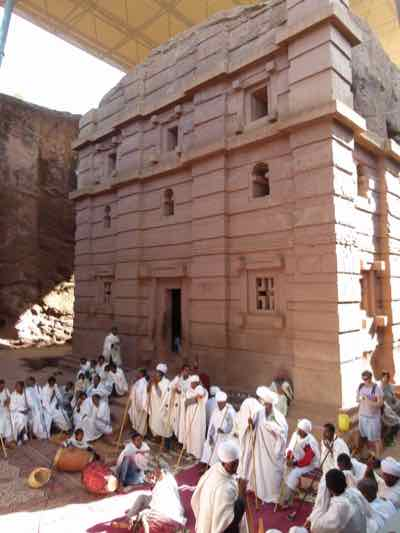 Bet Amanuel Church in Lalibela