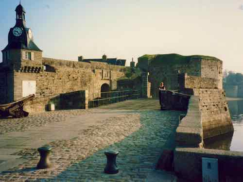 Entrance to Concarneau Old Town