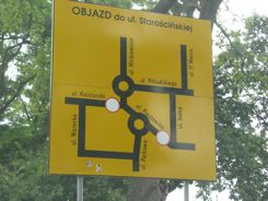Confusing Road Sign in Poland