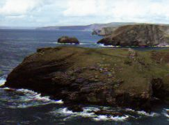 Cornwall Coast at Tintagel