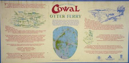 Cowal Peninsula - Otter Ferry Sign - Scotland