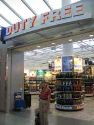 Airport Departure Duty Free Shops