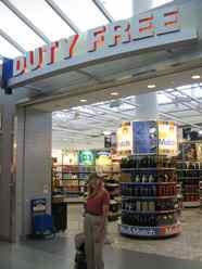 Airport Departure Duty Free Shops
