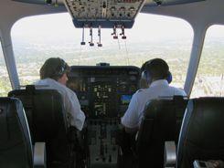 Bird's eye view through the cockpit windows.  Where can you do this anymore?