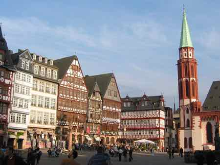 The Romer in Frankfurt Altstadt
