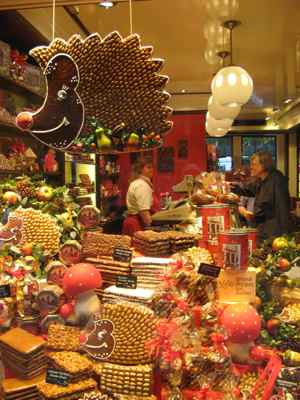 Gingerbread shop in Aachen