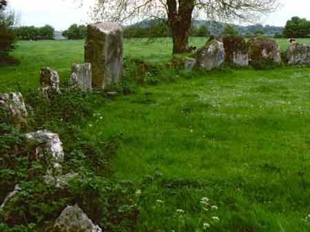 Grange Stone Circle near Bruff Ireland