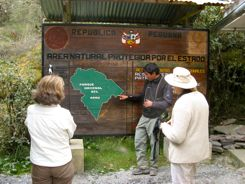 Group Tour Guides Provide Information