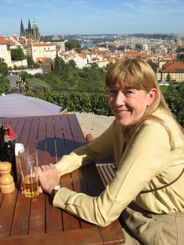 Have a Pilsen overlooking Prague