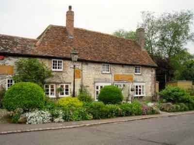 Avebury - Henge House in Village