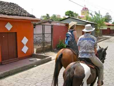 Nica horseback ride