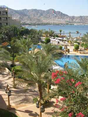 Hotel in Aqaba Jordan on the Red Sea