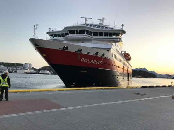 Hurtigruten ship the Polarlys