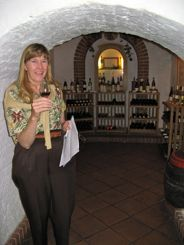 House Of Wine cave under Budapest