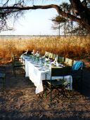 Jacks Camp Botswana alfresco dining