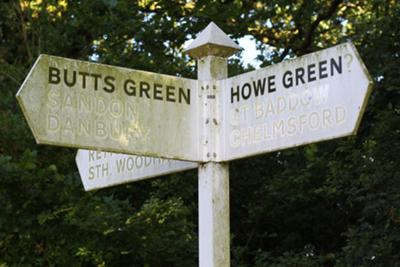 Butts Green.... and Howe Green?